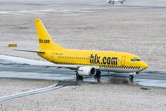 D-AHLF (PlanePixNase) Tags: aircraft airport planespotting haj eddv hannover langenhagen boeing 737500 b735 hlx hapaglloyd express