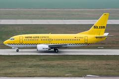 D-AHLD (PlanePixNase) Tags: aircraft airport planespotting haj eddv hannover langenhagen boeing 737500 b735 hlx hapaglloyd express