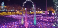 Nabana No Sato (.John Wong) Tags: garden light night nabana no sato japan