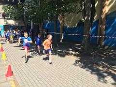 Zwycięstwo  na  Mistrzostwach Gdyni w Aquathlonie  (pływanie i bieg)
