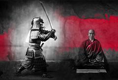 Heaven and Hell (Don Claudio, Vienna) Tags: heaven hell himmel hölle geschichte story zenmeister zen meister samurai buddhismus hakuin japan peace war mind frieden krieg hagakure tao