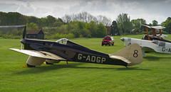 Miles Hawk Speed Six (Nigel Musgrove-2.5 million views-thank you!) Tags: shuttleworth season premiere old warden bedfordshire england 5 may 2019 airshow vintage plane aircraft aeroplane propeller