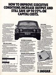 1975 Leyland Australia Jaguar XJ6 XJ V12 Aussie Original Magazine Advertisement (Darren Marlow) Tags: 1 2 5 7 9 19 75 1975 xj xj6 v 12 v12 j jaguar l leyland a australia s saloon c car cool collectible collectors classic automobile vehicle e english england b british britain 70s