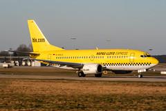 D-AHLG (PlanePixNase) Tags: aircraft airport planespotting haj eddv hannover langenhagen boeing 737500 b735 hlx hapaglloyd express