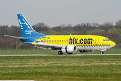 D-AHLI (PlanePixNase) Tags: aircraft airport planespotting haj eddv hannover langenhagen boeing 737500 b735 hlx hapaglloyd express