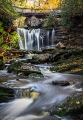 Meandering Waterfall (KRHphotos) Tags: elakalafalls stream westvirginia blurredwater landscape waterfall blackwaterfallsstatepark nature