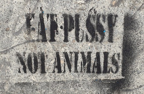 """Eat Pussy, not Animals"" Barcelona 2019"