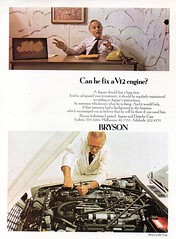 1978 Bryson Motors Jaguar & Daimler Cars Can He Fix A V12 Engine Aussie Original Magazine Advertisement (Darren Marlow) Tags: 1 2 7 8 9 19 78 1978 b bryson m motors j jaguar v 12 v12 d daimler c car cool collectible s saloon collectors classic a automobile vehicle e english england british britain 70s