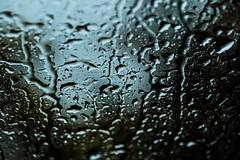 Rainyday (~ Jessy S ~) Tags: nikon d750 nikkor 105mm macro 28 gouttes droplets droplet eau water rain pluie rainy window vitre macrophotography liquid texture pattern