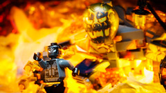 Far from home (Alan Rappa) Tags: afol farfromhome fire flames lego marvel minifigures practicaleffects spiderman superheros toy toyphotographerscom toyphotography toys
