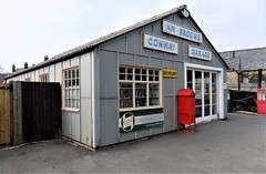 A W BROOME - CONWAY GARAGE BUILDING - BLACK COUNTRY LIVING MUSEUM (Midlands Vehicle Photographer.) Tags: a w broome conway garage building black country living museum