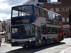 Stagecoach TransBus Trident (TransBus ALX400) 18151 PX04 DPE (Alex S. Transport Photography) Tags: bus outdoor road vehicle stagecoach stagecoachmidlandred stagecoachmidlands alx400 alexanderalx400 dennistrident trident transbustrident transbusalx400 route7 18151 px04dpe