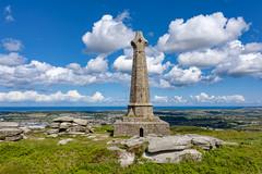 Carn Brea Monument, Cornwall (Cornish Reflections) Tags: cornwall england uk cornish southwest monument carn carnbrea basset francisbasset drone mavic mavic2 mavic2pro dji sea
