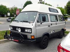 1989 Volkswagen Vanagon Syncro (splattergraphics) Tags: 1989 volkswagen vanagon syncro 4x4 vw westfalia
