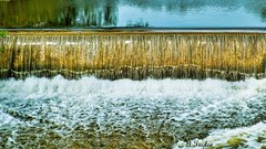 Over the edge (BTaylor Photos) Tags: pond dam river waterfall sony landscape water