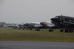 Dak Fest (eigjb) Tags: daks over duxford dakota douglas dc3 c47 dday 75th military skytrooper parachute landings ww2 world war warbird transport aircraft airplane airport aeroplane aviation historic invasion normandy anniversary usaaf us army air force