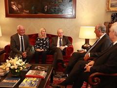 PSD em audiência com Sua Excelência o Presidente da República