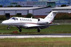 OO-ACC (GH@BHD) Tags: ooacc cessna c525 c525a citation citationjet citationjetcj2 cj2 airserviceliege bhd egac belfastcityairport bizjet corporate executive aircraft aviation