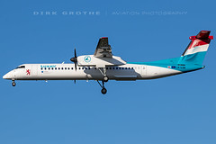 Luxair_DHC-8_LX-LQB_20190422_HAM (Dirk Grothe | Aviation Photography) Tags: luxair dhc8 dash8 lxlqb ham
