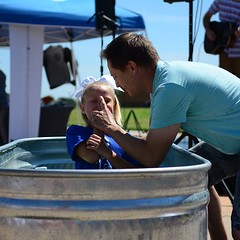 Landry publicly declared her faith and trust in Jesus through baptism this passed week! So awesome, Landry 🙌 (rcokc) Tags: landry publicly declared her faith trust jesus through baptism this passed week so awesome 🙌