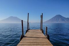 Lake Atitlan (john.aston85) Tags: lake atitlan water jetty volcanoes calm tranquil guatemala