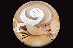 Spiral Staircases in the Museum of Liverpool (lfeng1014) Tags: spiralstaircases spiral stairs spiralstaircase museumofliverpool liverpool england uk structure architecture fisheye canon5dmarkiii ef815mmf4lfisheyeusm travel lifeng