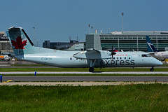 C-GKTA (Air Canada express - JAZZ) (Steelhead 2010) Tags: aircanada aircanadaexpress jazz dehavillandcanada dehavilland yyz dhc8 dhc8300 dash8 creg cgkta