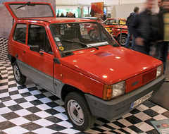 Panda (Schwanzus_Longus) Tags: techno classica essen german germany italy italian old classic vintage car vehicle compact hatchback fiat panda