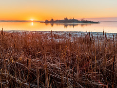 Sunrise at Chimney Island (Duncan Rawlinson - Duncan.co) Tags: 1000islands 1nr2g382prwi5aw37xqdndpcdwrc5b8qrz canada dawn duncanrawlinsonphoto duncanrawlinsonphotography duncanco iq250 landscape lifeontheriver morning ontario park phaseone phaseoneiq250 photobyduncanrawlinson rest saintlawrenceriver shotwithaphaseoneiq250 stlawrenceriver sunrise tip tipsunrise1000islandsontariocanada thousandislands architecturalelement beautiful calm calming chimney final firstlight httpsduncanco httpsduncancochimneyislandsunrise3 island light meditation natural nature orange outdoor peace reeds relax river sky sun sunny tourism tranquility water weather yellow mallorytown