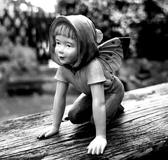 Fairy (claudine6677) Tags: blumenelfe flower fairy fairies cicely barker elfenfigur figur deko