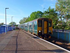 150263 & 150238 Exmouth (1) (Marky7890) Tags: gwr 150263 class150 sprinter 2f49 exmouth railway devon avocetline train
