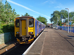 150263 & 150238 Exmouth (2) (Marky7890) Tags: gwr 150263 150238 class150 sprinter 2f49 exmouth railway devon avocetline train