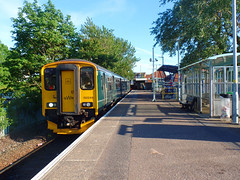 150249 Exmouth (2) (Marky7890) Tags: gwr 150249 class150 exmouth sprinter 2b84 railway devon avocetline train
