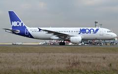 F-GKXN, Airbus A320-214, c/n 3008, JON-Joon, CDG/LFPG 2019-02-20, onto taxiway Alpha-Loop. (alaindurandpatrick) Tags: jon joon airbus airports airlines airliners minibus a320 cdg airbusa320 jetliners a320200 lfpg aviationphotography a320214 airbusa320200 airbusa320214 fgkxn parisroissycdg cn3008