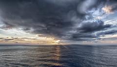 Dramatic sunset / Драматический закат (dmilokt) Tags: природа nature пейзаж landscape море sea закат рассвет восход sunset sunrise dmilokt