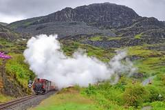 Merddin Emrys-Tanygrisiau-5.6.19 (shaunnie0) Tags: ffestiniog tanygrisiau steamtrain merddinemrys
