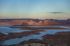 Overlooking Lake Powell (CraDorPhoto) Tags: canon5dsr lake water landscape valley mountains nature outdoors outside sky blue butte utah usa alstrompoint