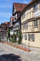 Welterbestadt Quedlinburg (Helmut44) Tags: deutschland germany sachsenanhalt quedlinburg harz fachwerkhaus welterbestadt architektur strasse