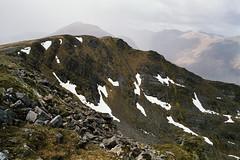 Gleouraich and Spidean Mialach (bnrynlds) Tags: fuji gsw690iii kodak portra 800 highlands munro