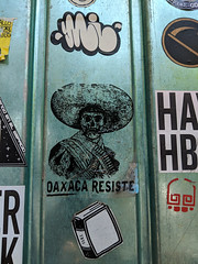oaxaca resiste (the real duluoz) Tags: ciudaddeméxico méxico calle streetart oaxaca resiste