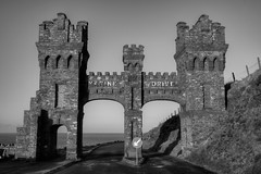 """MARINE DRIVE ARCHWAY, DOUGLAS, ISLE OF MAN, GREAT BRITAIN. (ZACERIN) Tags: drive man"""" """"great """"marine of """"isle britain"""" archway"""" """"douglas"""" paul marine isle drive"""" """"christopher photography"""" head"""" """"visit """"architecture"""" """"uk"""" """"pictures """"history """"douglas tramway"""" """"outdoors"""" """"coast"""" """"zacerin"""" """"1891"""" """"trams"""" """"tramway"""" """"toll"""""""