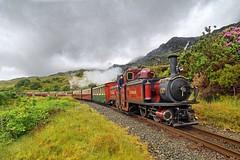 Merddin Emrys1-Tanygrisiau-5.6.19 (shaunnie0) Tags: ffestiniog steamtrain tanygrisiau merddinemrys