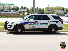 West Bend Police (Photographer Asher Heimermann) Tags: wisconsin westbend washingtoncounty police policesuv policevehicle policecar