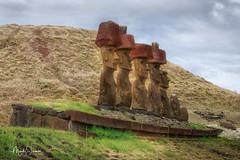 Te pito o te henua (marko.erman) Tags: beach seven explorers moai sculptures legend island sony archeology civilisation rapanui anakena easterisland chile pacificocean tepitootehenua hotumatua ahuakivi iledepâques