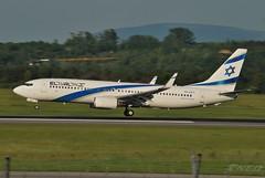 4X-EKT 20190602 VIE (SzépRichárd) Tags: aircraft airplane airport boeing 737 loww elal