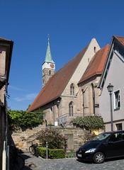 Herzogenaurach in Mittelfranken (Helmut44) Tags: deutschland germany bayern franken mittelfranken herzogenaurach stadtpfarrkirche kirche kirchturm architektur altstadt church churchtower