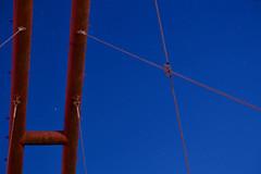 Stars over the Bridge (O. Heda) Tags: bridge red star 日本 shizuoka hamamatsu 橋 浜松 静岡 tenryu 赤 星 天竜川