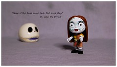 'Day of the Dead' Sally (DayBreak.Images) Tags: tabletop toy funkopop dayofthedead sally skull canondslr canoneflens ringlight photoscape text border home