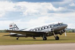 20806 Douglas C-47B (amisbk196) Tags: airfield aircraft dday aviation flickr amis dday75 unitedkingdom 2019 daksoverduxford uk duxford 20806 douglas c47b dakota dc3