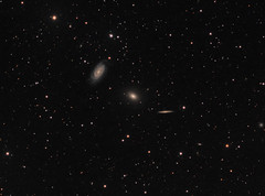 NGC 5981, 5982, and 5985 - The Draco Trio (AllAboutRefractors) Tags: galaxies tec180 telescopes astrophotography astronomy astrophysics qsi starlightxpress star